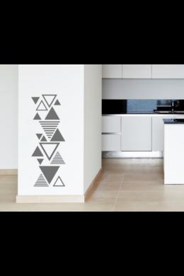 Csíkos háromszögek faltetoválás csomag