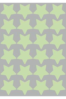 Világító csillagok falmatrica csomag
