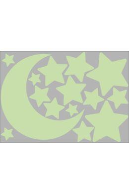 Hold és csillagok falmatrica csomag