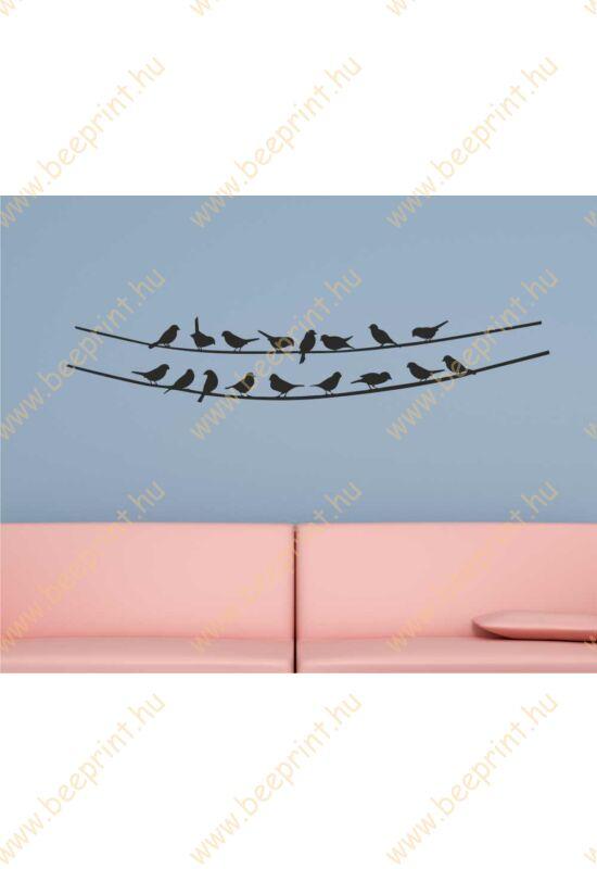 madaras falmatrica hálószobába