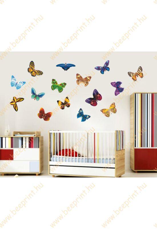 pillangós falmatrica, pillangó falmatrica, lányos falmatrica
