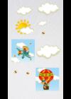 macis vászonképek falmatricával