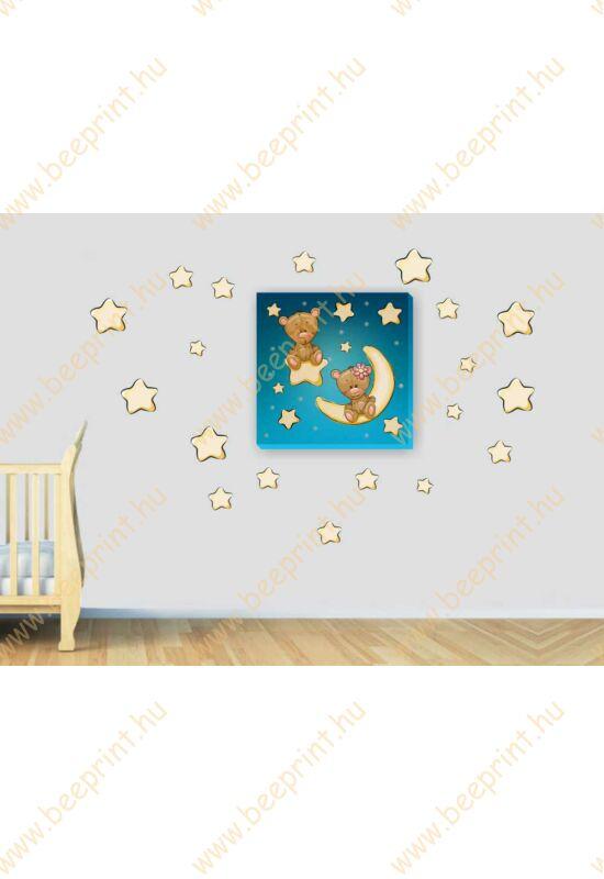 gyerekszoba dekoráció, babaszoba dekoráció